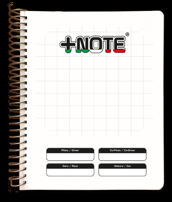 Quaderno note rally grande +Note con spirale in metallo