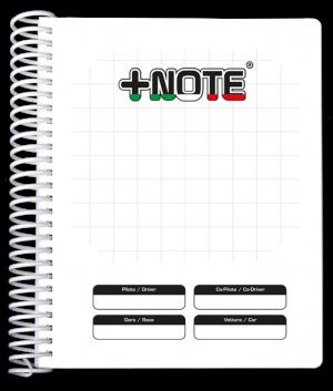 Quaderno note rally grande +Note con spirale in plastica