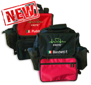 Custom co-driver backpack bag +Note Evo, two colors