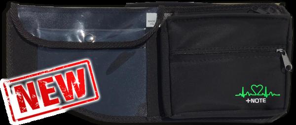 Tasca laterale abitacolo +Note Evo, lato navigatore