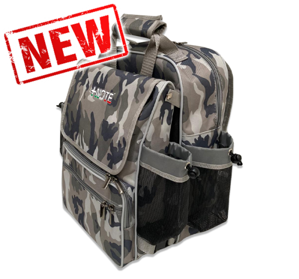 Co-driver backpack bag +Note Evo, mimetic, dove gray color
