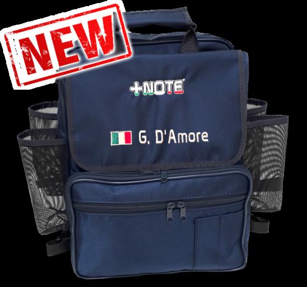 Custom co-driver backpack bag +Note